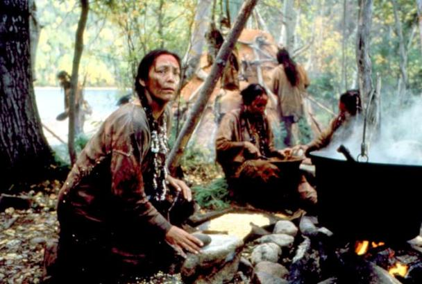 THE BLACK ROBE, Tantoo Cardinal 1991. ©Samuel Goldwyn Films