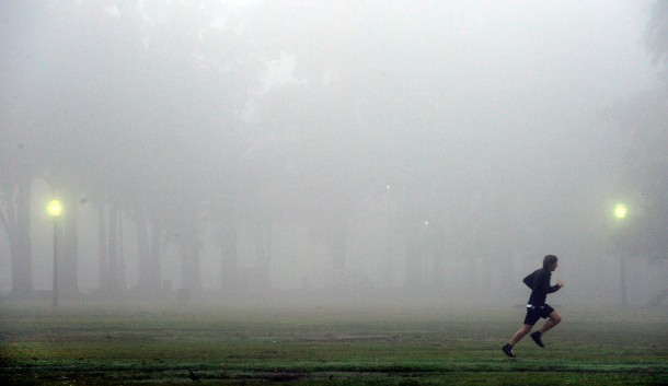 ARGENTINA-WEATHER-FOG